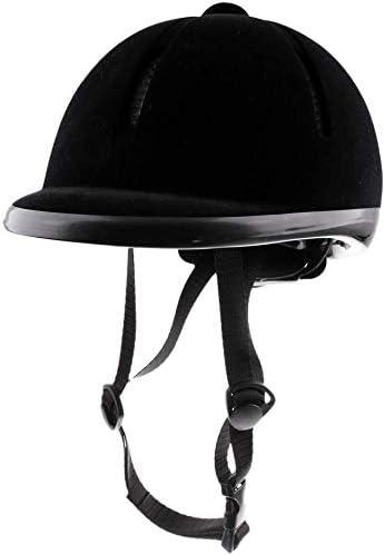 Details about  /Adjustable Equestrian Horse Riding Sport Black Equestrian Safety Helmet 54-60cm