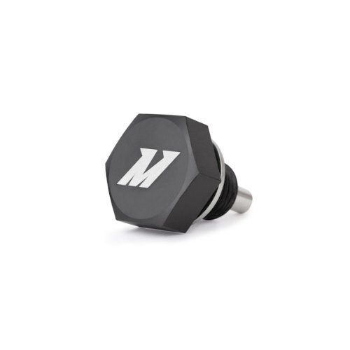 Mishimoto MMODP-1415B Black M14 x 1.5 Magnetic Oil Drain Plug Billet Oil Plug
