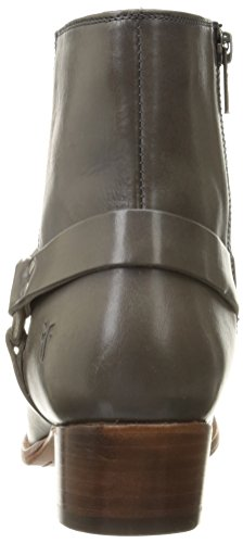 Boot Harness Veg Short Dara Charcoal Leather FRYE Womens Smooth Polished qwFC16wxg