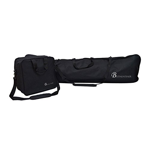 BESTHUNTIER Simple Black Snowboard Bag And Boot Bag No Padded Fitting Snowbaord Up To 167CM And Boot Size Up To 13. by BESTHUNTINER
