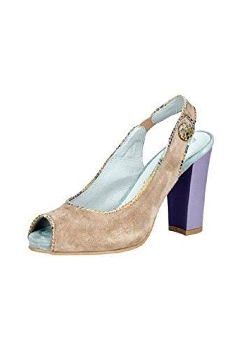 Zapatos de ante de Patrizia Dini Marron - Taupe
