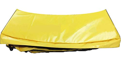 Family Store Network 14' Round Trampoline Pad Yellow 12'' Wide - Made in USA by Family Store Network (Image #1)