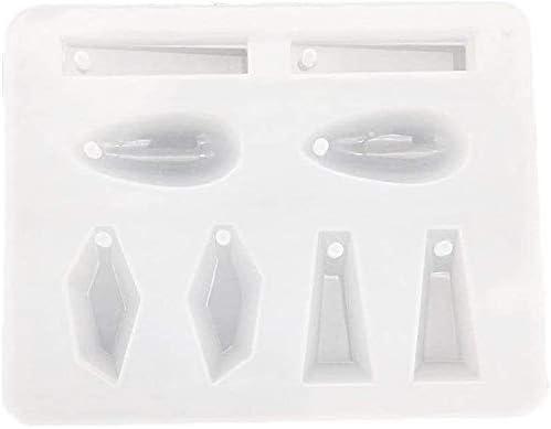 geometrische Anhänger Form 8 Designs Schmuckherstellung Silikonform Formen