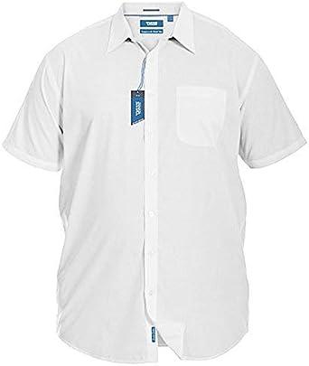 D555 Duke - Camisa de manga corta para hombre, tamaño grande ...