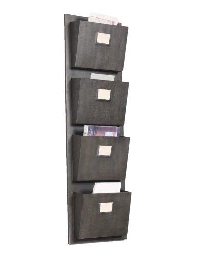 Linon 4 Slot Hanging Metal Mailbox