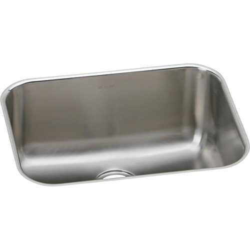 - Elkay EGUH211510 Single Bowl Undermount Stainless Steel Sink