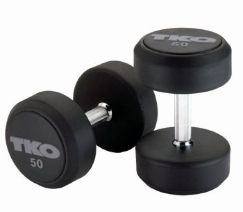 SDS Rubber Dumbbells - Pairs / Sets 27.5 lbs