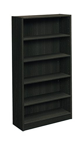 basyx by HON BL Series Bookcase, 5 Shelves, 32''W, Espresso Finish by basyx by HON