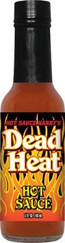 Hot Sauce Harrys HSH2137 HSH DEAD HEAT Hot Sauce 120#44;000 Scoville Units Hot Sauce - 5oz from Dead Heat!