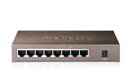 HQ-Cam 4 Port Power & Video PoE Switch IEEE802.3af complaint RJ45 PSE/PoE output ports