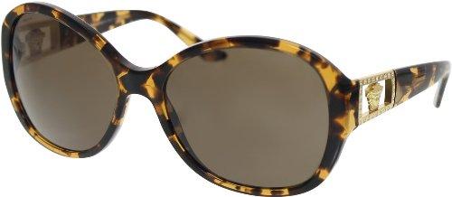 Versace VE4241B Sunglasses-998/73 Amber Havana (Brown - 2013 Versace Sunglasses