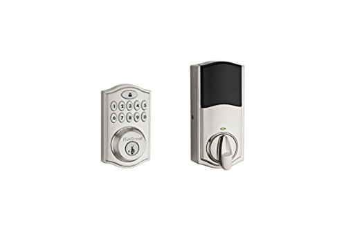 Kwikset 99140-023 SmartCode 914 Z-Wave Plus Deadbolt, Satin Nickel