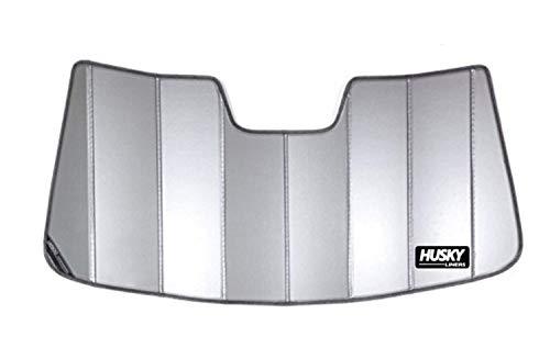 (Husky Liners 97003 Silver Custom Sunshade Fits 2009-18 Dodge Ram 1500/2500/3500, 2019 Dodge Ram 1500 Classic)