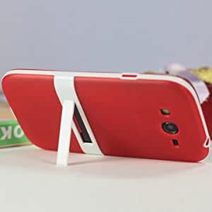 Candy Color Protective Case for Samsung Galaxy Grand Duos I9082 @ Color==Yellow