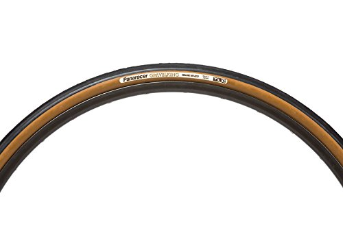 Panaracer Unisex Gravel King Folding Tyre, Black/brown, Size 700 x 38c ()