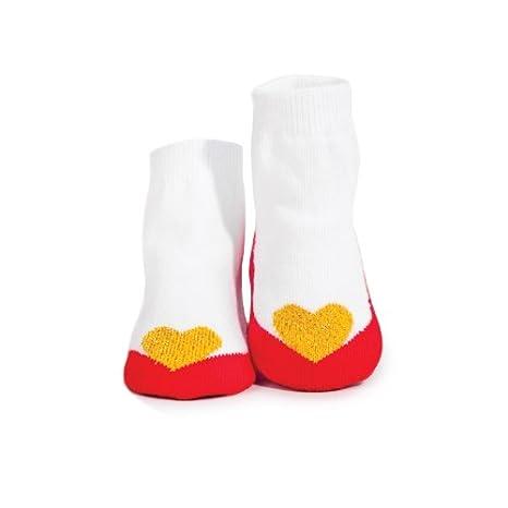 Trumpette Baby-girls Newborn Valentine Pixie Socks