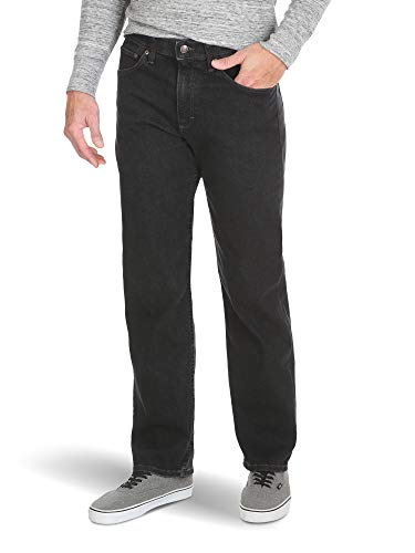 Wrangler Authentics Men's Comfort Flex Waist Relaxed Fit Jean, Dark Denim, ()