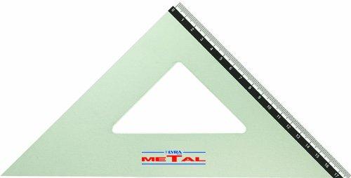 Lyra Metal Squadra 32cm/45°in busta PVC FILA Italy N51100