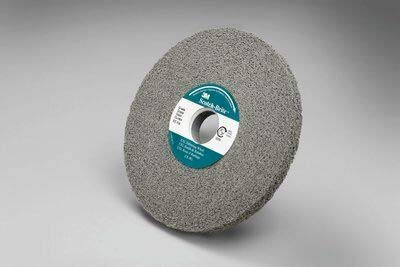 4/PK 3M Scotch-Brite 09548 EXL Deburring Wheel 6 in X 1/2 in X 1 in 8S FIN // 7000136514 by APD-Incorporated