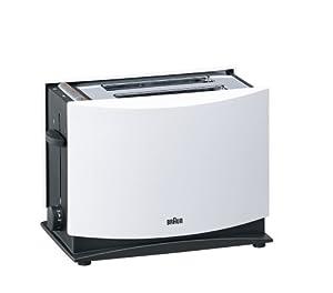 Braun HT450 MultiToast Toaster (1000 Watt) weiß