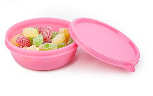 Signoraware Buddy Bowl Plastic Container, 300ml, Pink