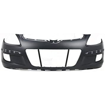 Front Bumper Cover For 2009-2012 Hyundai Elantra w// fog lamp holes Primed