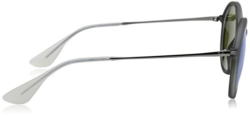 Ray-Ban - Lunettes de soleil Injected Man - 0RB4222 SHOT GREEN RUBBER