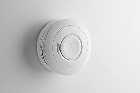 Honeywell Home DFS8MS Detector inalámbrico de Humo para Sistema Evohome Security, 3 V, Blanco: Amazon.es: Bricolaje y herramientas