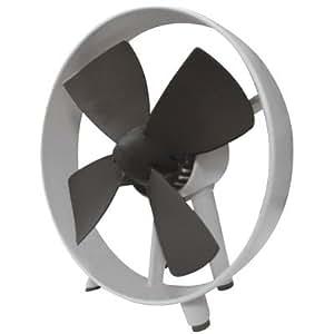 Captelec - Ventilador silencioso (palas de caucho blanco)