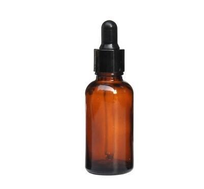 1oz 30 ml vacío esencial botella de aceite de cristal rellenable Ambe Vial Contenedor con cristal cuentagotas para aceites esenciales otros líquidos (Pack ...