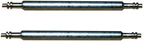 0105 Federsteg Federstift Uhrensteg Stegbreite 22mm Gesamtlänge 25mm 2 Stück