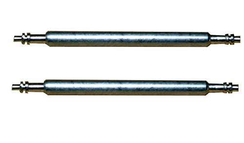 Federsteg Federstift Uhrensteg Uhrenstift Stegbreite 15 mm (Lä nge 18 mm) 2 Stü ck