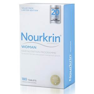 Nourkrin Woman Three Month Supply 180 tablets by Nourkrin
