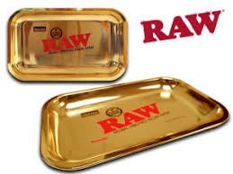 RAW 24kt Gold Plated 10 Year Anniversary Rolling Tray - (Limited Edition) by RAW (Image #3)