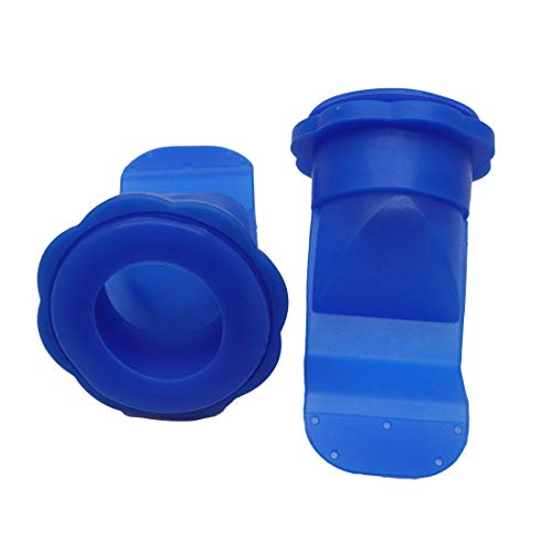 Sydien 2Pack Silicone Drain Backflow Preventer V-cup Shape Floor Drain Seal