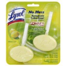 Lysol Automatic Toilet Bowl Cleaner Citrus Scent 2 Blocks 1.41 Oz Each Block (3 Pack) (Reckitt Scent Benckiser Citrus)