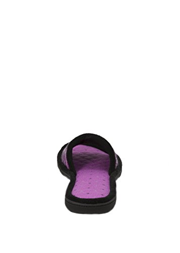 Dearfoams Womens Raspberry Sherbert Slides Slipper (Large 9-10) 8dchN3P