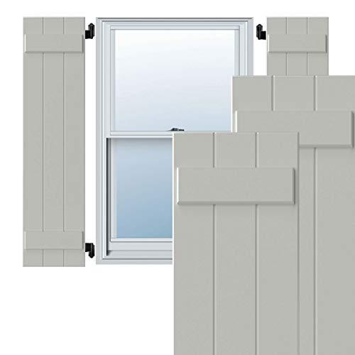 Ekena Millwork CWB12X078WHC Exterior Three Board