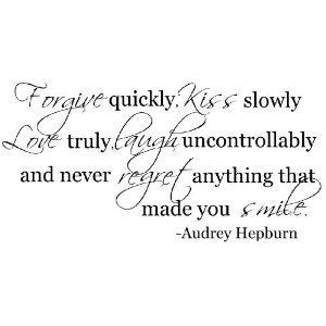 wall decal quotes audrey hepburn - 7