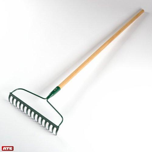 Garden Bow Rake (Wood Handle)