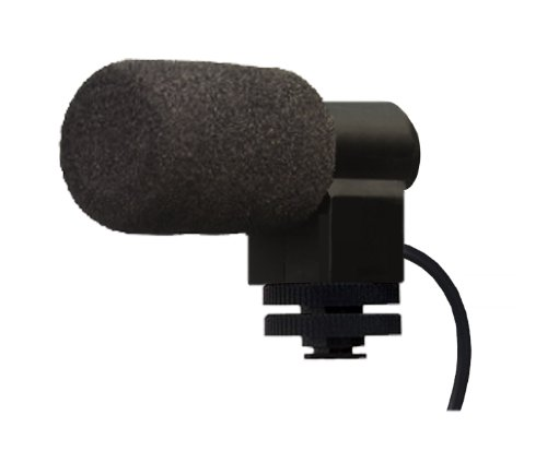 Bower Elite Stereo Microphone With Windscreen (Shotgun) For Sony Alpha NEX-3C