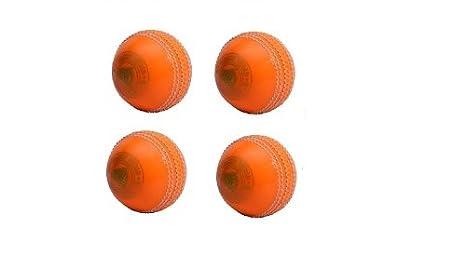 CW juego de 4 Spin Poly suave PVC todos naranja deportes pelota de ...