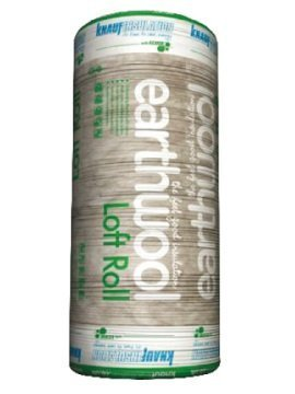 Knauf Earthwool Loft Insulation 200 Millimetre x 5.93 Square Metre Per Roll Pack of 2 Rolls BPS Access Solutions