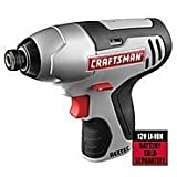 Craftsman Nextec 12 Volt Lithium Ion 1/4 Inch Impact Driver (Bare Tool, No Battery or Charger Included) Bulk Packaged
