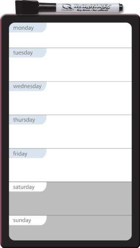 magnetic calendar weekly planner dry erase refrigerator to do list