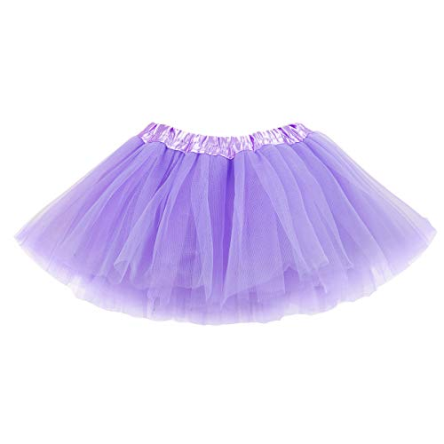 belababy Purple Tutu Skirt for Baby Girls Photo Shooting, 0-2T -