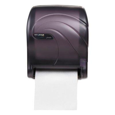 Tear-N-Dry Essence Touchless Towel Dispenser, 11.75x9 1/8x14 7/16, Black Pearl