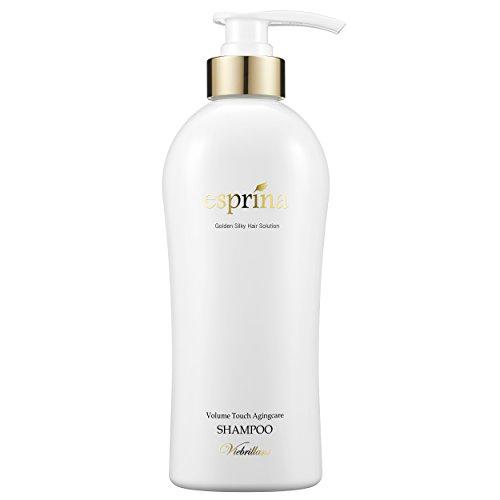 [Viebrillant esprina] Volume Touch Agingcare Shampoo 500ml, Non Silicon, Scalp Care, Haire Moisturizing, Amino Surfactant