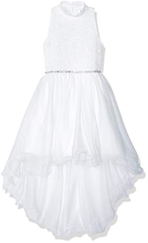 Speechless Girls' Big Mock Neck Dress with Wired