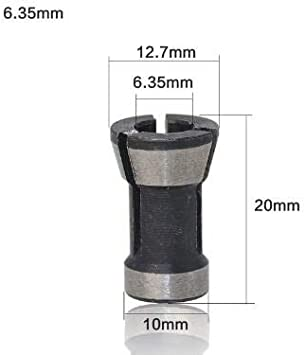 8mm Collet Chuck Adapter For Trimming Machine Electric Router
